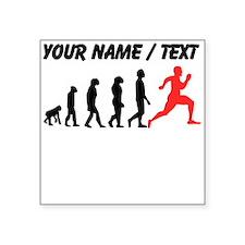 Custom Running Evolution Sticker