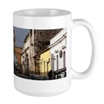 Colorful Village Large Mug