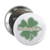 """Shamrock - Gallagher"" Button"