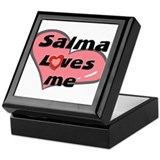 salma loves me Keepsake Box
