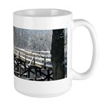 Winter Bridge Large Mug