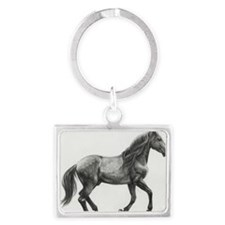 Andalusian_commish_by_moodymand Landscape Keychain