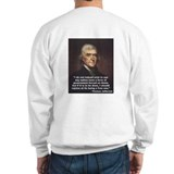 "Thomas Jefferson ""Rejoice"" Sweatshirt"