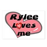rylee loves me  Postcards (Package of 8)