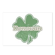 """Shamrock - Donovan"" Postcards (Package of 8)"