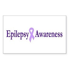 Epilepsy Awareness Rectangle Decal