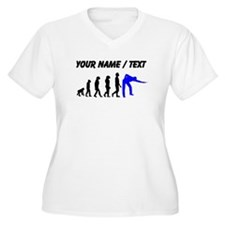 Custom Billiards Evolution Plus Size T-Shirt