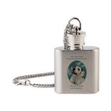 Dalmatian Flask Necklace