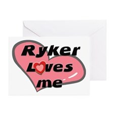 ryker loves me  Greeting Cards (Pk of 10)