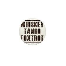 whiskey Mini Button