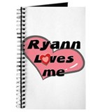 ryann loves me Journal
