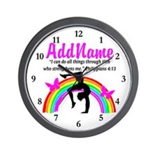 CHRISTIAN GYMNAST Wall Clock