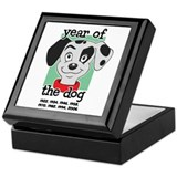 Year of Dog Dalmation Pup Keepsake Box