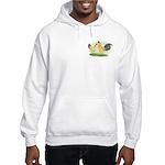 Blue-tail Buff OE2 Hooded Sweatshirt
