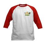 Blue-tail Buff OE2 Kids Baseball Jersey