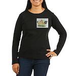 Blue-tail Buff OE2 Women's Long Sleeve Dark T-Shir