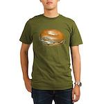 Bagel and Cream Cheese Organic Men's T-Shirt (dark
