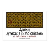Autism 1 in 150 Postcards (Package of 8)