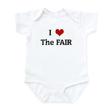 I Love The FAIR Infant Bodysuit