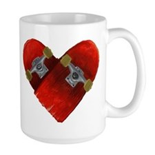Love longboard red Mug