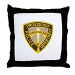 Providence Police Throw Pillow