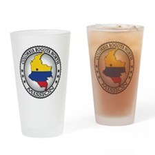 Colombia Bogota North LDS Mission F Drinking Glass