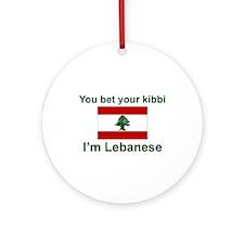 Lebanese Kibbi Keepsake Ornament