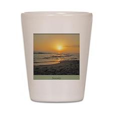 Florida Sunset-5-j Shot Glass