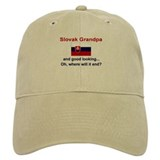 Slovak Grandpa-Good Looking Baseball Cap