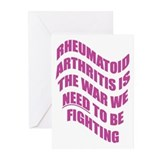 Rheumatoid Arthritis Greeting Cards (Pk of 10)