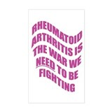 Rheumatoid Arthritis Rectangle Decal