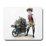 Wheelbarrow of Roses Mousepad
