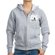 2664_archaeology_cartoon Zip Hoodie