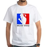 Buy Muay Thai White T-Shirt