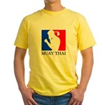 Buy Muay Thai Yellow T-Shirt