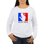Buy Muay Thai Women's Long Sleeve T-Shirt
