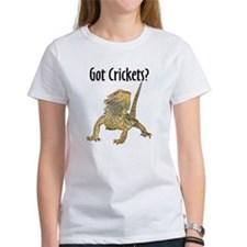 Bearded Dragon Got Crickets Tee