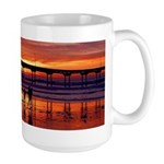 Sunset Shore Large Mug