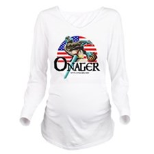 Onager Team USA -LG2 Long Sleeve Maternity T-Shirt