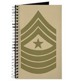 Sergeant Major Personal Logbook 3