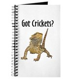 Bearded Dragon Got Crickets Journal