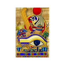 eye-of-horus-w-bg Rectangle Magnet