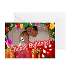 Customized Xmas Design Greeting Cards