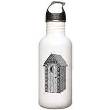 Outhouse-shirt Water Bottle