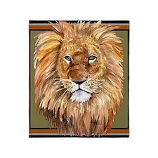 liontile Throw Blanket