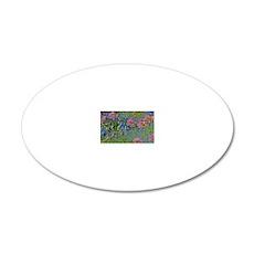 Coin Monet AgaB 20x12 Oval Wall Decal