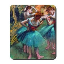 GC2 Degas GreenPink Mousepad