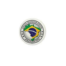 Brazil Salvador South LDS Mission Flag Mini Button