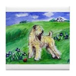 Wheaten in field Tile Coaster
