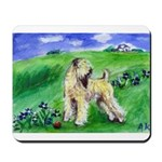 Wheaten in field Mousepad